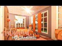 BLOXBURG| Autumnal No Gamepass Home | House Build - YouTube Home Building Design, Building A House, House Design, Family House Plans, Autumn Home, Autumnal, Houses, Ceiling Lights, How To Plan