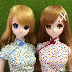 Mirai Suenaga and Kizuna Yumeno Smart Doll by puppy52