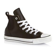 Converse Da: Chuck Taylor All Star Chelsee Season Shoes - Black/cloud Cream/white