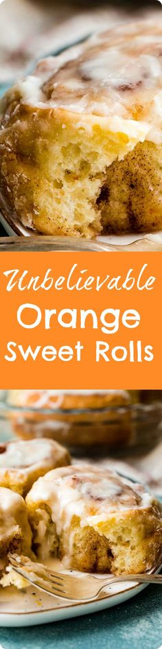 Unbelievable Orange Sweet Rolls | Super soft and sweet cinnamon rolls flavored with fresh orange! These irresistible rolls are topped with orange icing and will have your kitchen smelling like a bakery. Find recipe at redstaryeast.com.