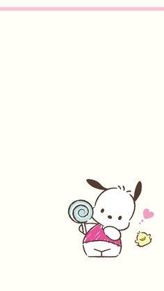Sanrio Wallpaper, Live Wallpaper Iphone, Hello Kitty Wallpaper, Kawaii Wallpaper, Hello Kitty Characters, Sanrio Characters, Japanese Cartoon, Cute Japanese, Kawaii Drawings