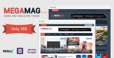 MegaMag - News and Magazine WordPress Theme - News / Editorial Blog / Magazine