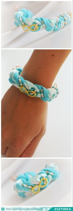 Mint bracelet turquise summer time