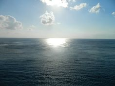 sun setting. view from our balcony aboard the Celebrity Equinox
