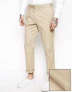 ASOS Slim Fit Smart Chino Trousers