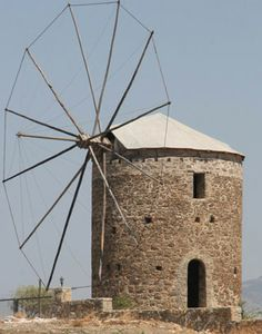 Datca windmill - Turkey Somewhere Only We Know, Turkey Travel, Lighthouses, Windmill, Buildings, Fair Grounds, Windmills, Lighthouse