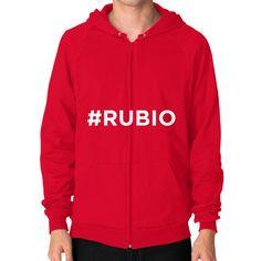 #Rubio for President Men's Zip Hoodie
