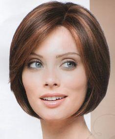 Dark Brown Hair With Cinnamon Highlights