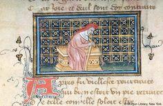Roman de la Rose, MS G.32 fol. 3v - Images from Medieval and Renaissance Manuscripts - The Morgan Library & Museum