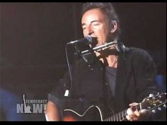 This Land is Your Land - Pete Seeger , Bruce Springsteen & friends. You wanna know what this country is all about? Listen to Pete singing Woody Guthrie's deathless, immortal ballad honoring the working people of this country. We were great and we can be so again.  VOTE - VOTE - VOTE -VOTE-VOTE