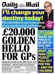 Daily Mail - 27.12.14