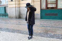 bottes de pluie stradivarius manteau Zara s'habiller en temps de pluie porter des gros pulls
