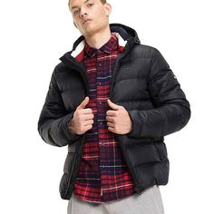 BASIC DOWN HD JKT 12 ΜΠΟΥΦΑΝ ΑΝΔΡΙΚΟ TOMMY HILFIGER Tommy Hilfiger, Winter Jackets, Clothes, Fashion, Winter Coats, Outfits, Moda, Clothing, Winter Vest Outfits