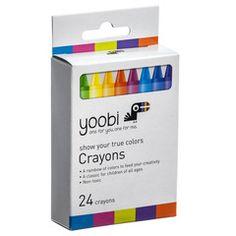 Crayons, 24 Pack - Multi Color by Yoobi