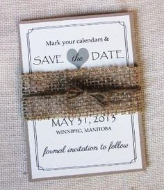 Burlap wedding invitations ideas, Lace and Burlap Wedding Invitation, Handmade Rustic wedding projects, rustic chic style wedding decorations ideas by bernice