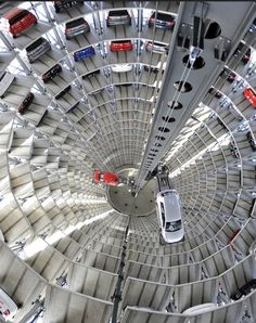 VW parking-tower