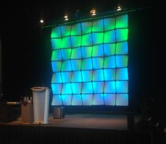 ScenicSolutions by Freeman Wafer Panels. See more at www.scenicsolutionsbyfreeman.com #freemanavcanada #audiovisual #generalsession