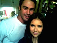 Taylor Kinney as Mason Morgan && Nina Dobrev as Nora Calbot in The Wreck of Our Hearts (novel by Angela M. Vampire Diaries Besetzung, Vampire Dairies, Vampire Diaries The Originals, Zach Roerig Daughter, The Cw, Tv Actors, Actors & Actresses, Casting Pics, Taylor Kinney