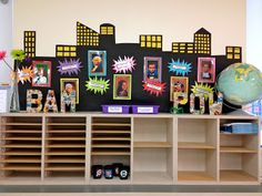 superhero classroom theme - Could totally make this cuter and work in the classroom!