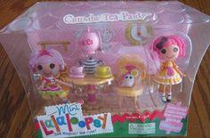 Attractive MGA Mini Lalaloopsy SEW Sweet Playhouse 5 Furniture Sets Doll House   EBay
