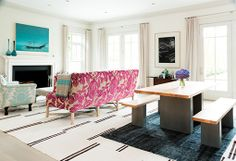La redecoración del salón de la casa de verano de Gwyneth Paltrow