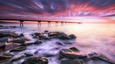 Dawning on the bridge - null