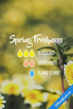 Spring freshness - bergamot, grapefruit and ylang ylang