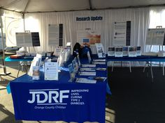 We love the table setup at the Orange County Walk. By combining Research and Advocacy, people approaching the table can easily get all of the resources they need!