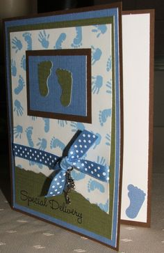 Special Delivery - Baby Boy Card