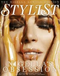 Nigella Lawson, my favourite domestic goddess, continues to sex up food.  Love it!