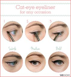 How to create a custom cat eye | SheKnows.com