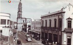 Avenida Mexico Hacia 1945