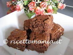 Cubotti al cioccolato: brownies che passione!