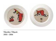 Vilijonkka ruokalautanen (2puoleisella kuvalla)