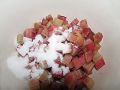 He loves Rhubarb Cobbler and I {gasp!} have never cooked nor eaten rhubarb. I found rhubarb in the product section of my local grocery store. Rhubarb Desserts, Rhubarb Recipes, Summer Desserts, Fun Desserts, Rhubarb Cobbler, Cobbler Topping, Best Dessert Recipes, Cake Recipes, Drop Biscuits