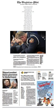 interesting play for arizona story. // The Virginian-Pilot's front page for Tuesday, July 2, 2013.