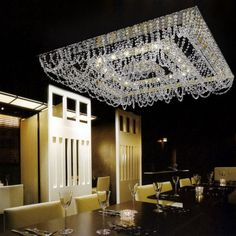 Donatella | Glass & Crystal | Yellow Goat Design - Custom Lighting