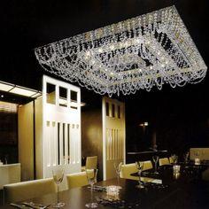Donatella | Glass & Crystal | Yellow Goat Design - Custom Lighting