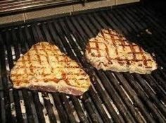 Grilled Blue Fin Tuna with Ginger-Dill Aioli Recipe
