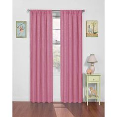 Eclipse Day at the Zoo Jacquard Weave Blackout Curtain Panel