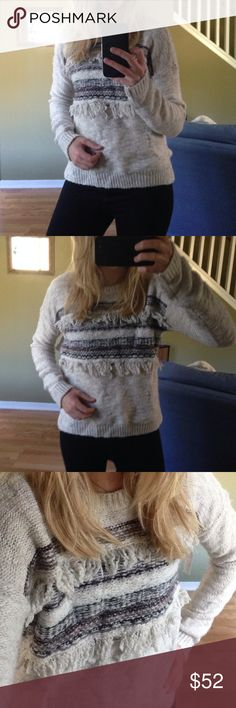 Selling this Abercrombie&Fitch ⛅️knit sweater on Poshmark! My username is: laurgaur. #shopmycloset #poshmark #fashion #shopping #style #forsale #Abercrombie & Fitch #Sweaters