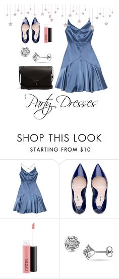 """""""#polypresents: Party Dresses"""" by omega952196 on Polyvore featuring MAC Cosmetics, PB 0110 and partydresses"""