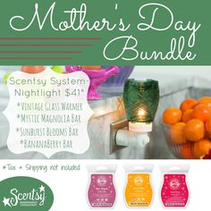 Mother's Day Bundle $41 Let me know if you're interested. https://staceynewman.scentsy.ca