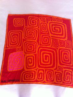 Rudi Gernreich silk scarf