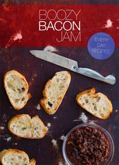Boozy Bacon Jam recipe. I actually don't like bacon (I know) but this would make a great gift for people I know that do.