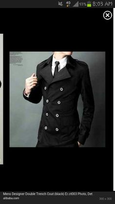 Double-Breasted Trench Coat. If I get nothing else this holiday season, I will buy this myself lol