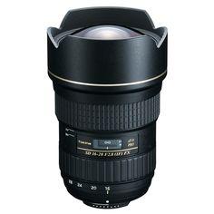 Tokina 16-28 - Available for Canon & Nikon mounts.