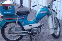 In Finland we have this thing called mopo. Classical mini motor cycle from the 1960-70's - also known as Pappa-Tunturi (Grandpa-Tunturi).