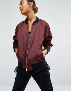 Loving bomber jackets!