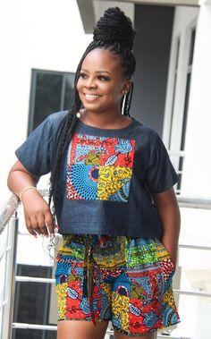 African Print Dresses, African Wear, African Fashion Dresses, African Dress, African Clothes, Crop Top Set, Crop Top And Shorts, Ankara Crop Top, Bespoke Clothing